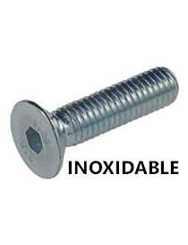 INOX. TORNILLO DIN-7991 ALLEN  6X 25