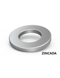 ARANDELA ZINCADA M- 6        DIN-125