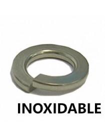INOX. ARANDELA GROWER M-  6  DIN-127