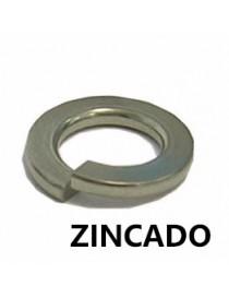 ARANDELA GROWER M- 6         DIN-127  ZINCADA