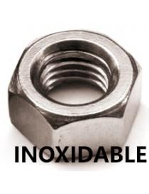 INOX. TUERCA DIN-934 M-  6