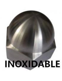 INOX. A-4 TUERCA CIEGA DIN-1587  M-  8