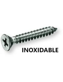 INOX. TORNILLO R/CHAPA DIN-7982 2.9X  9.5