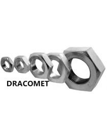 TUERCA CONTRATUERCA DIN-936 M-14 CALIDAD-10 DRACOMET-500-A