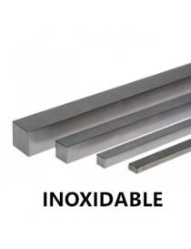 INOX. CHAVETA DE   8X  7X1000