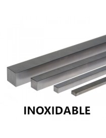 INOX. CHAVETA DE 10X  8X1000
