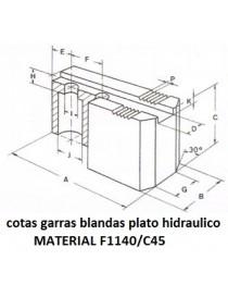 JUEGO GARRAS GALVEZ 250-315 1/16